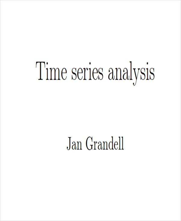 time trend analysis free