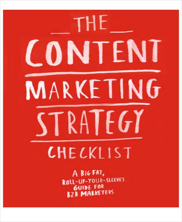 content strategic marketing plan