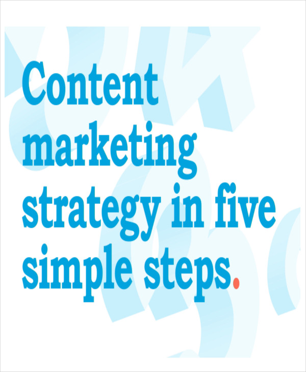 content marketing strategy plan sample