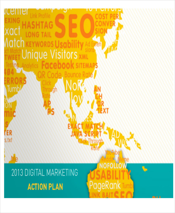 sample content marketing action plan