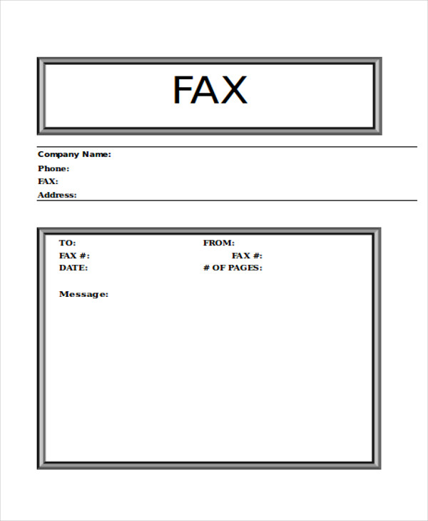 word urgent fax cover sheet