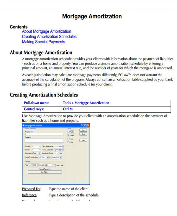 ammortization spreadsheet