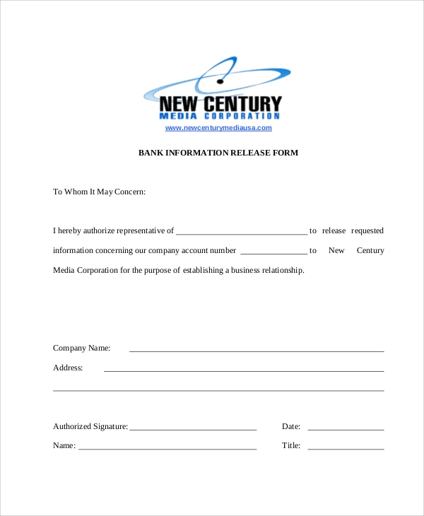 Photo Release Form Print Release Form Template Best Template Idea