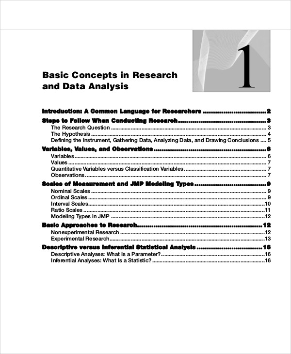 Research Analysis Sample 9 Examples in Word PDF – Sample Research Analysis