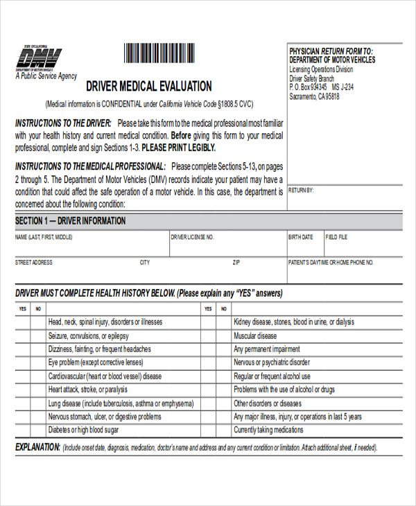Sample Dmv Release Form - 10+ Examples In Word, Pdf