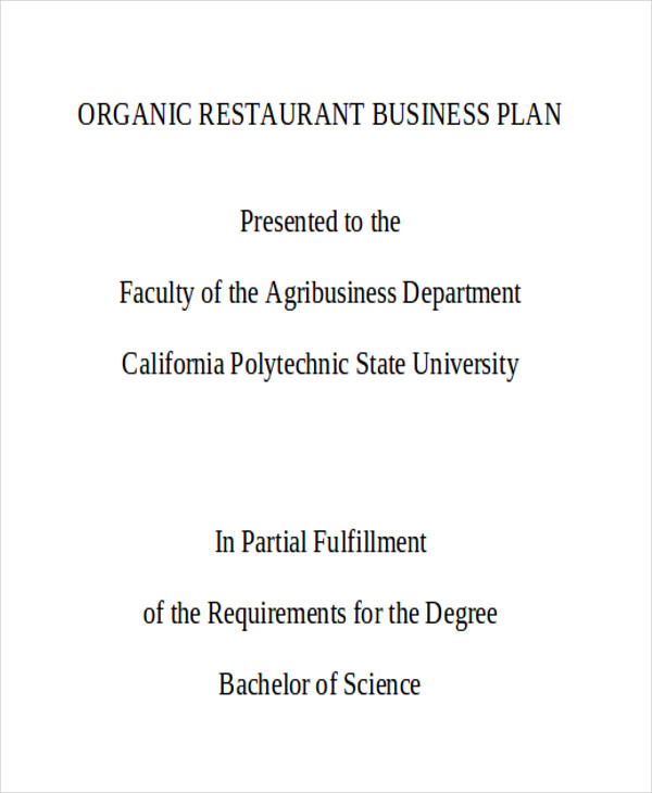indian restaurant business plan sample