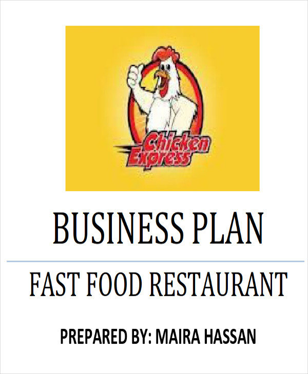 6 Sample Restaurant Business Plan Examples In Word Pdf