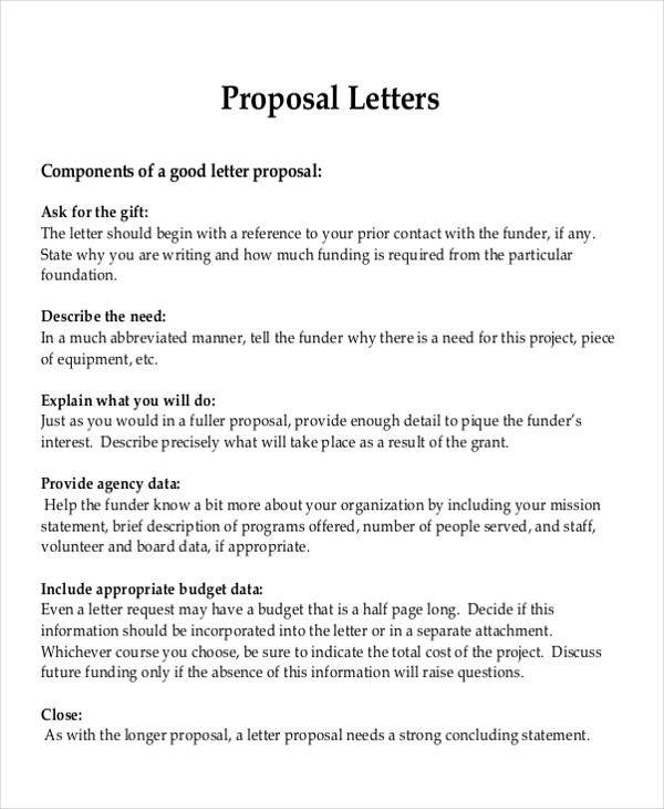 Formal Bid Proposal Template Datariouruguay
