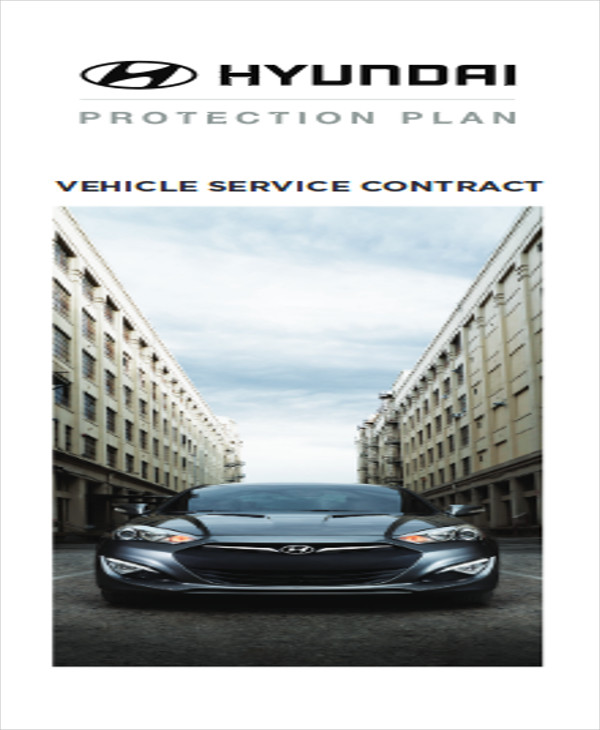 vehicle service contract agreement