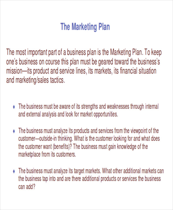 marketing implementation plan example