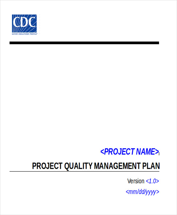 project quality implementation plan doc