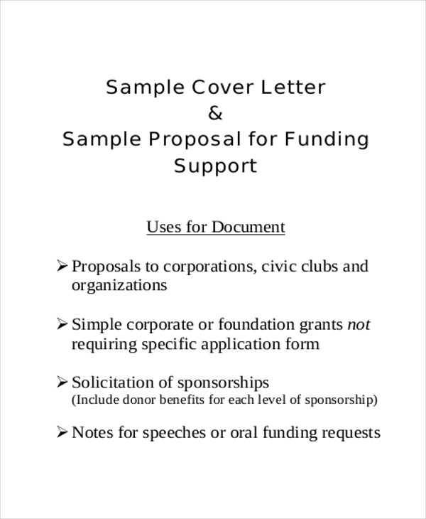 FREE 11+ Sample Project Proposal Letter Templates In MS