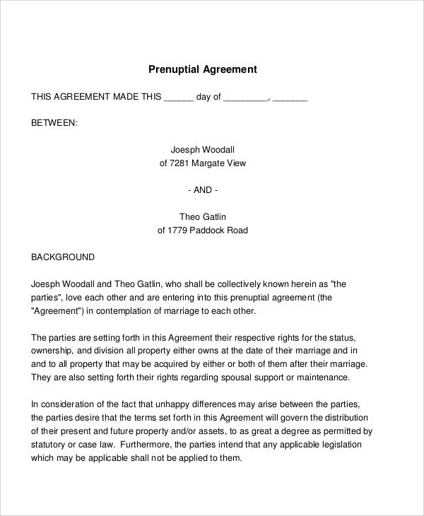 Basic Agreement Samples
