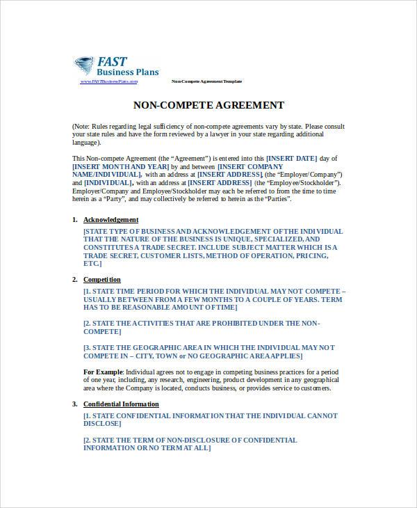 37 Basic Agreement Samples