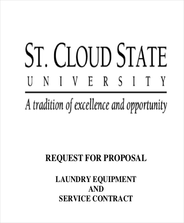 laundry service proposal letter