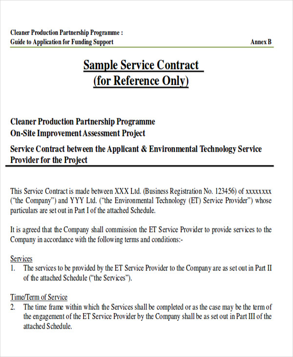Sample consulting service agreement 9+ free documents download.
