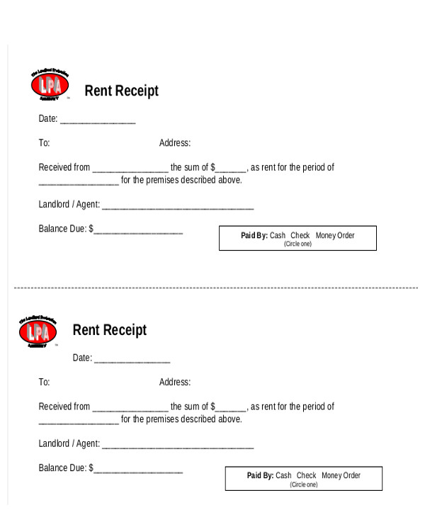 Rental Invoice Form  Rent Invoice Form