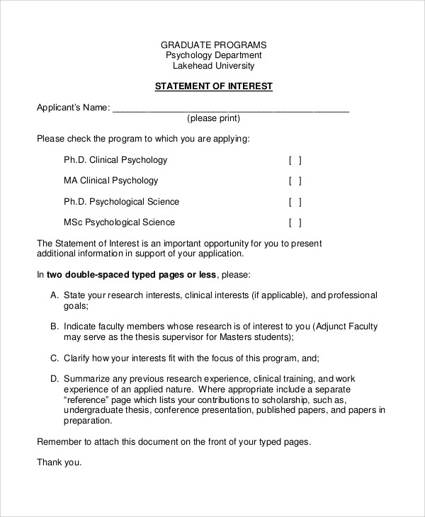 clinical psychology phd application personal statement Personal statements are common requirements for application to graduate programs in psychology the best advice: write a unique personal statement for each program you are applying generic personal statements are rarely going to make your application stand out from the crowd.