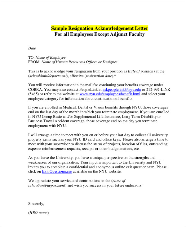 request for letter of recommendation 6 resignation acceptance letter pdf word sample 27549