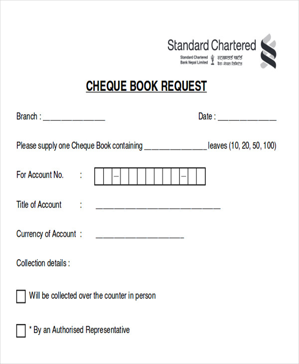 Sample Cheque Request Form - 7+ Examples In Word, Pdf