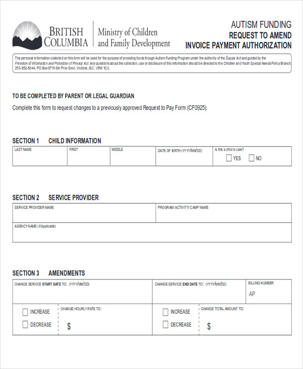 Sample Funding Request Form - 10+ Examples In Word, Pdf