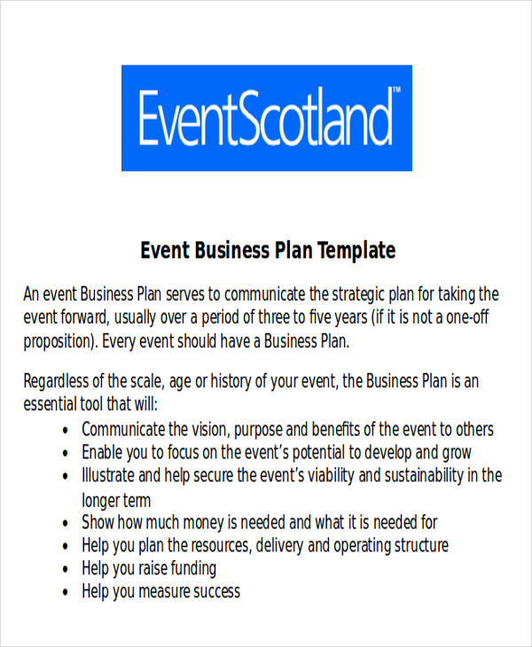 event management business proposal