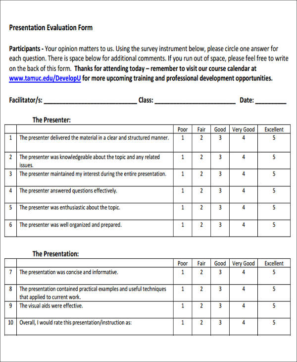 Sample Product Evaluation Form   Examples In Word Pdf