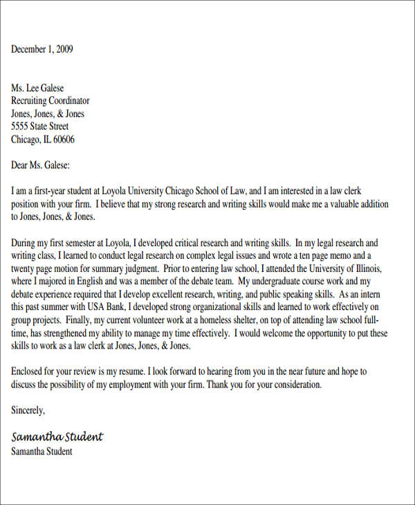 Charming Examples For Legal Assistant Cover Letter