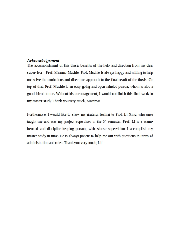 8 Sample Acknowledgment Reports Pdf Sample Templates