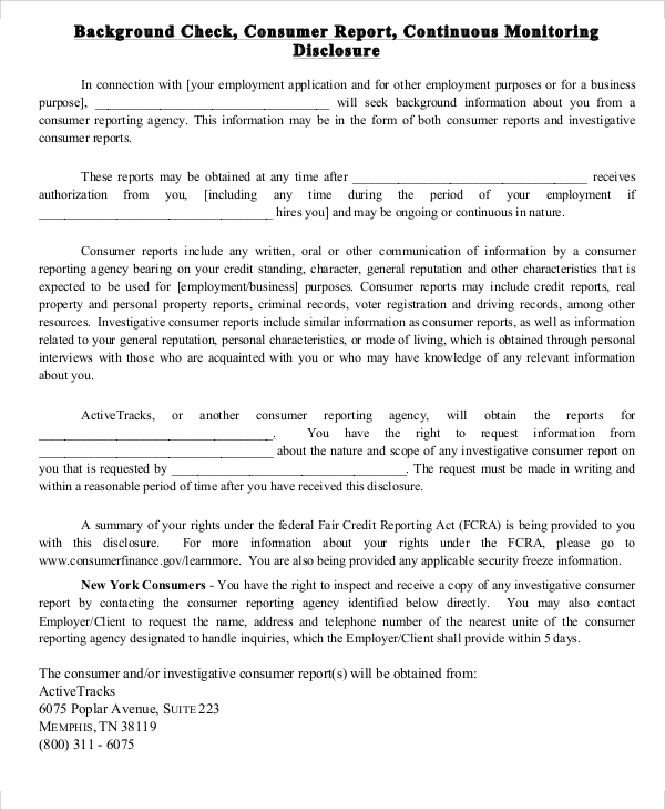 Background Report Sample   Examples In Word Pdf