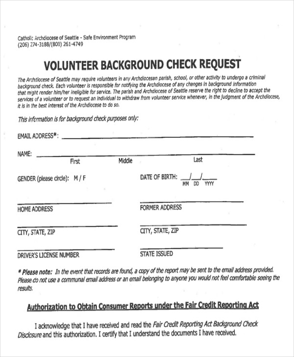 Sample Background Check Report   Examples In Word Pdf