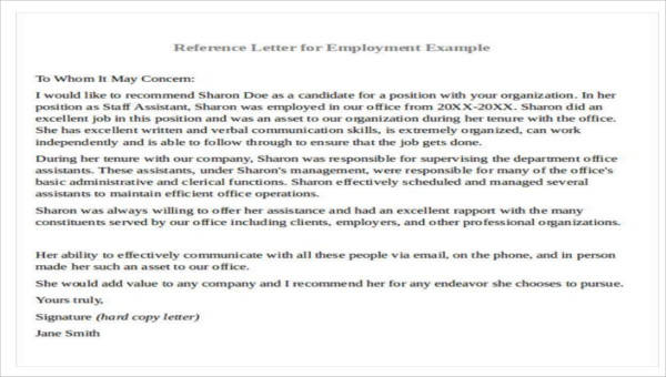 28 Recommendation Letter Examples