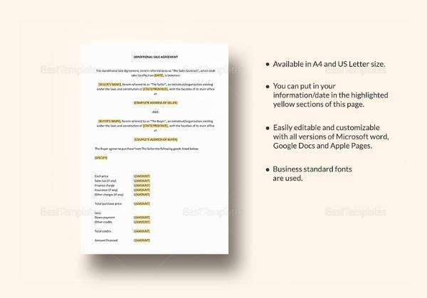 10 vehicle sales agreement samples free sample example format