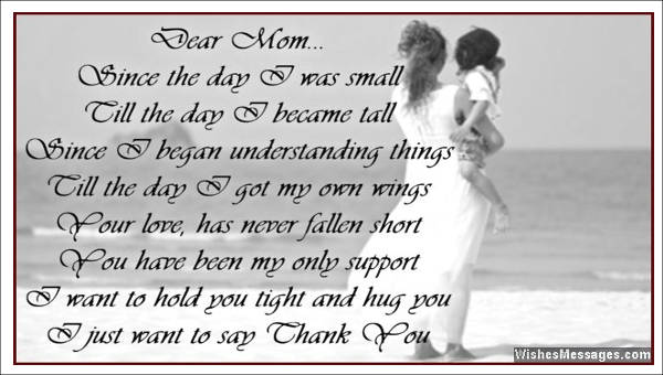 thank you mom letter 5 sample thank you letter to sample templates 12118
