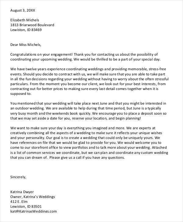 marriage proposal letter sample marriage letter 5 examples in pdf word 13407 | Wedding Proposal Acceptance Letter