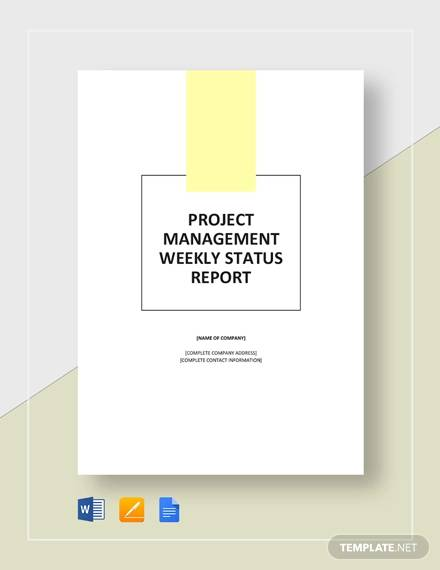 weekly project management