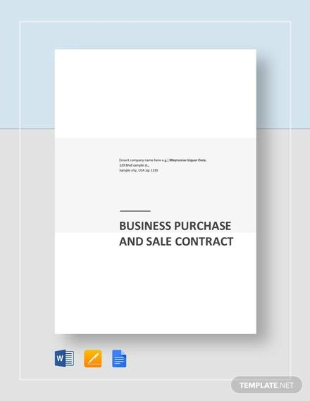 business purchase and sale contract1