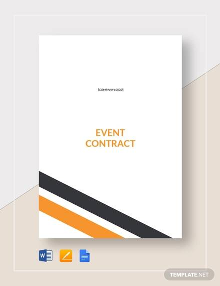 event contract