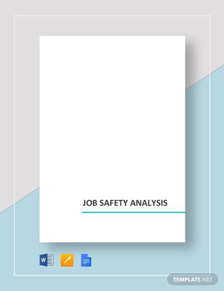 job safety analysis1