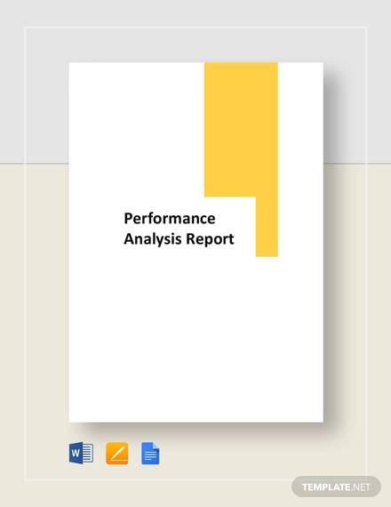 performance report1