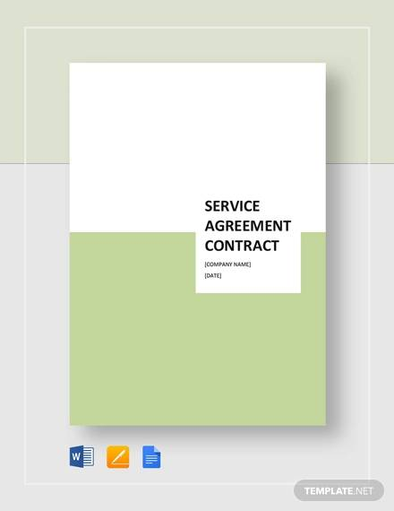 serivce agreement contract