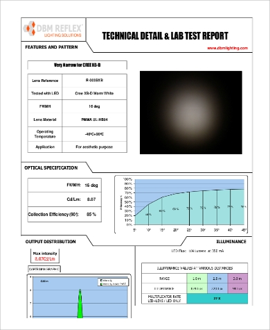 technical lab report Learn skills: lab equipment use, lab analysis, food quality reporting, food safety,   one year technical diploma this one year program includes classroom and.