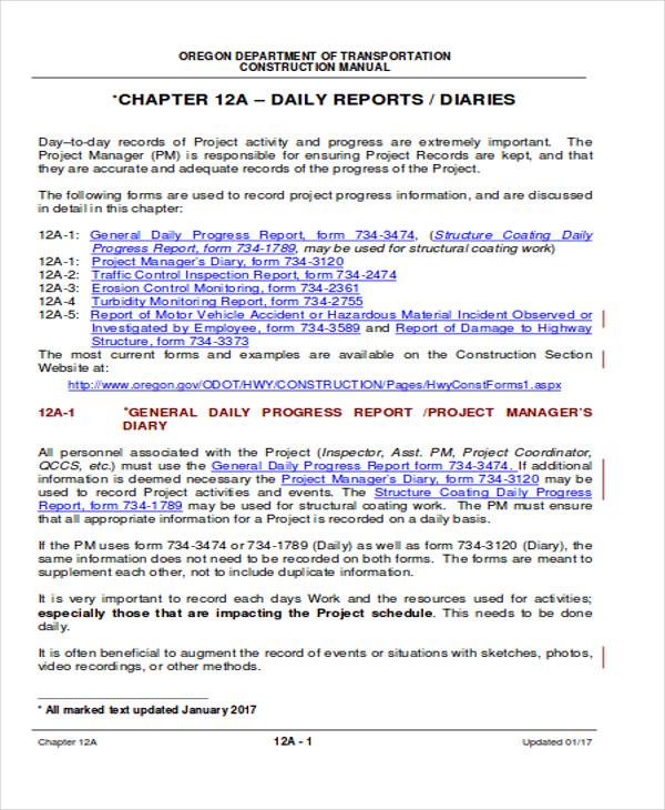 Daily Accomplishment Report Format  Accomplishment Report Format