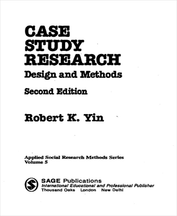 case study research report How to conduct a case study research as an effective scientific method of investigation, which implies data collection on the single case followed by the analysis and report preparation.