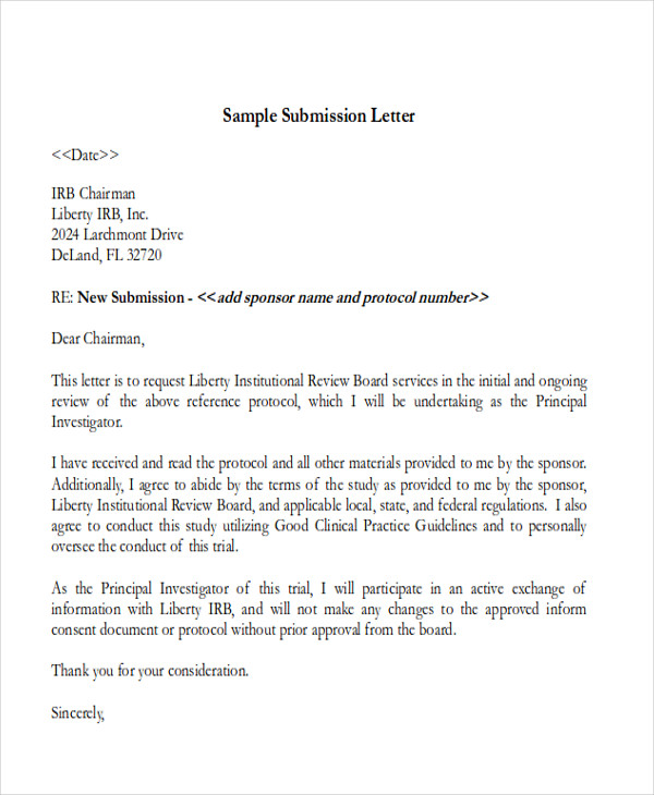 40 report format samples sample templates for Covering letter format for document submission