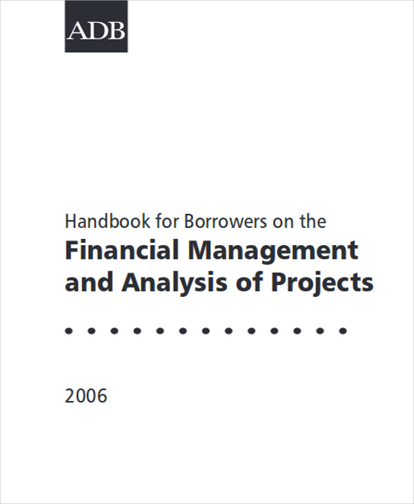 financial project report format