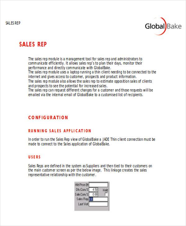 sales visit report format