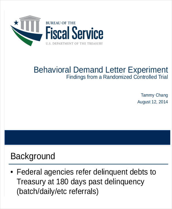 behavioral demand letter