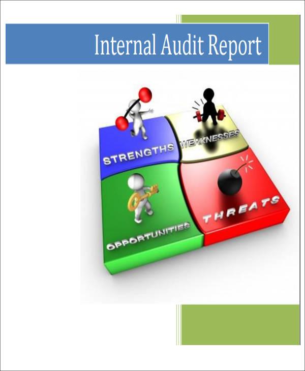 internal audit report sample