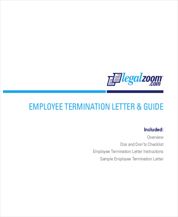 termination letter to employee letters in pdf 1798